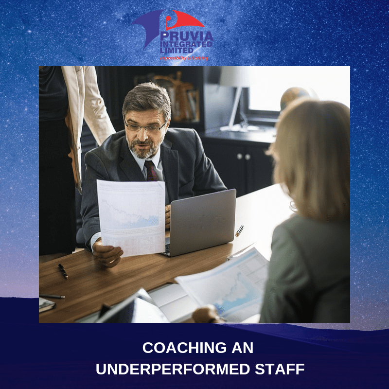 COACHING AN UNDERPERFORMED STAFF